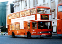 Route N6, London Forest, T61, WYV61T, Trafalgar Square