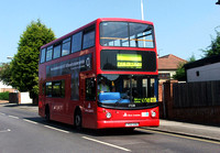 Route 608, East London ELBG 17538, LY02OAD, Romford Bus Garage