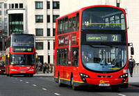 Route 21, Go Ahead London, WVL279, LX59CYU, London Bridge