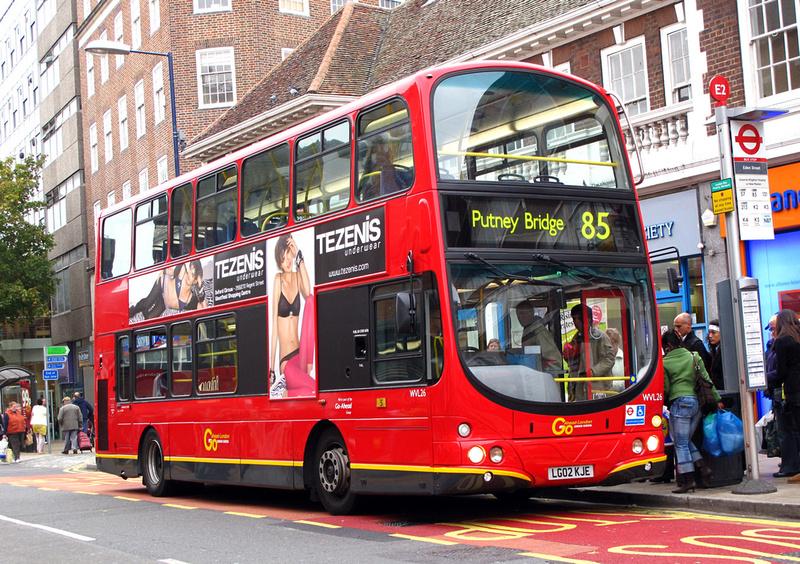 London bus routes route 85 kingston putney bridge for Bus timetable perth 85