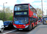 Route 85, Go Ahead London, VE2, LX58CWL, Putney Bridge