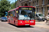 Route S2, First London, DM41734, X734HLF, Bow