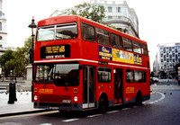 Route N18, Centrewest, M230, BYX230V, Trafalgar Square