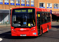 Route B14:  Bexleyheath, Shopping Centre - Orpington Station