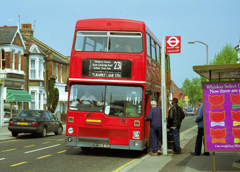 bus 231 231 enfield - turnpike lane   [london buses] (part1)   (part2)  .