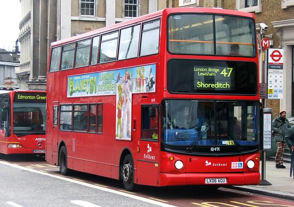 London Bus Routes Route 47 Bellingham Catford Bus