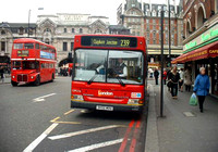 Route 239, London General, LDP216, SK52MOU, Victoria Station