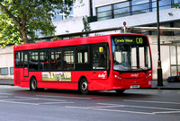 Route C10, Abellio London 8562, YX11AEM, Victoria