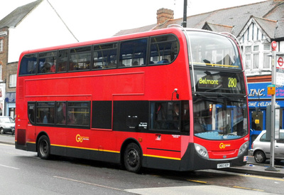 London Bus Routes Route 280 Belmont Tooting St
