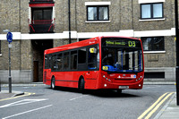 Route D3, East London ELBG 36073, LX59EDK, Wapping