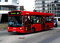 Route 410, Arriva London, ADL62, W462XKX, Croydon