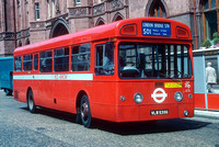 Route 501, London Transport, MBA535, VLW535G