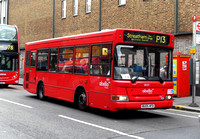 Route P13, Abellio London 8029, BU05HFD, Peckham