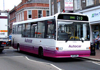 Route 210, Autocar, 637GKK, Tonbridge