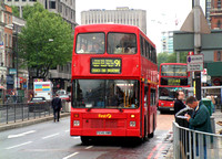 Route 91, First London 246, P246HMD, King's Cross