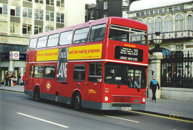 London Bus Routes Route 23 Aldwych Westbourne Park