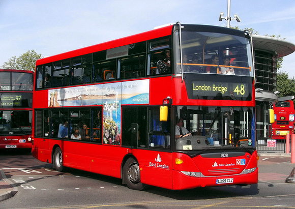 Route 48, East London ELBG 15128, LX59CLZ, Walthamstow