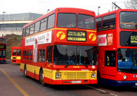 Route 674, First London, VDN34206, S206LLO, Romford Station