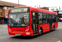 Route 499, Arriva Southend 3999, GN57BPE, Romford