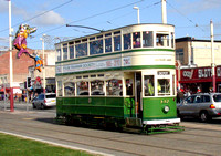 Blackpool Tram 147, North Promenade