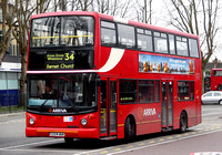 Route 34, Arriva London, DLA24, S224JUA, Walthamstow