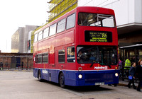 Route 186, Metroline, M1034, A734THV, Brent Cross