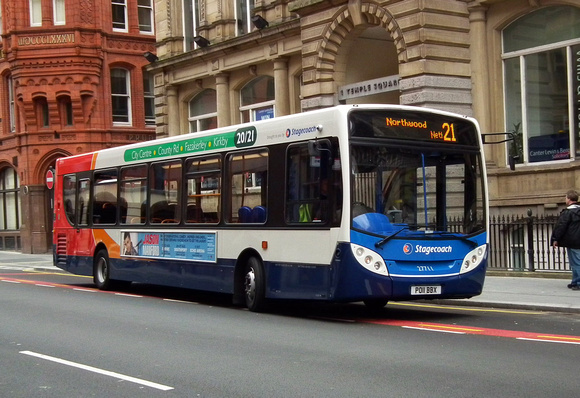 Route 21, Stagecoach Merseyside 27711, PO11BBX Liverpool