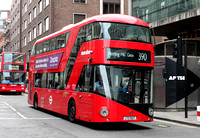 Route 390, Metroline, LT27, LTZ1027, Tottenham Court Road