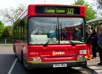 Route 322, London General, LDP214, SK52MOA, Crystal Palace
