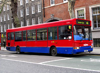 Route 46, Metroline, DLD131, V131GBY, Holborn Circus