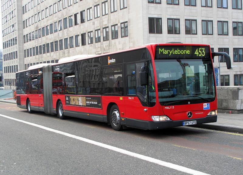 London Bus Routes Route 453 Deptford Bridge