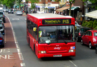 Route P13, Abellio London 8035, BU05HFV, East Dulwich