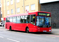 Route 248, Blue Triangle, ED6, AE06HCH, Romford
