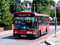 Route 278, London Central, DMS4, T104KGP, Lewisham