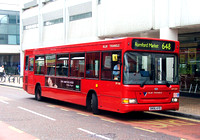 Route 648, Blue Triangle, DP209, SN56AYD, Romford