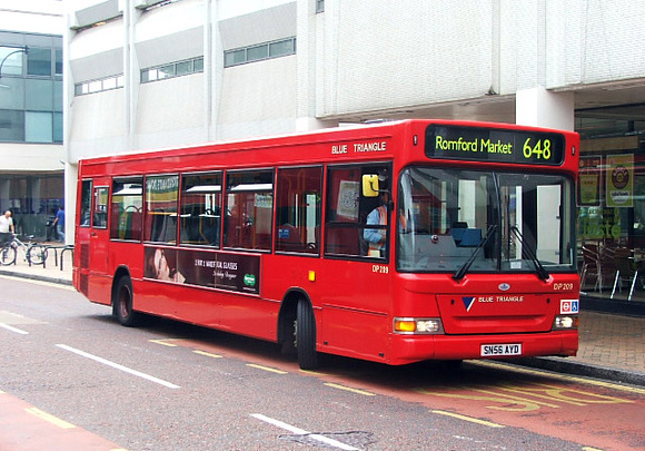 London bus route 648 romford market hornchurch upminster cranham 5 miles for Ilford county high school swimming pool
