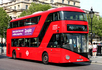 Route 9, London United RATP, LT69, LTZ1069, Trafalgar Square