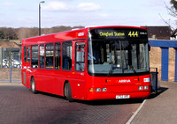 Route 444, Arriva London, DWL51, LF52UOC, Chingford Station
