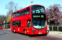 Route 20, Go Ahead London, WVL458, LJ61NUO, Loughton