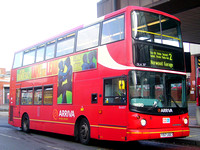 Route 2, Arriva London, DLA317, Y517UGC, West Norwood