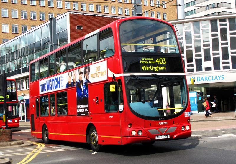 London Bus Routes Route 403 Warlingham West Croydon