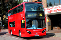 Route 120, London United RATP, ADE6, YX12FNM