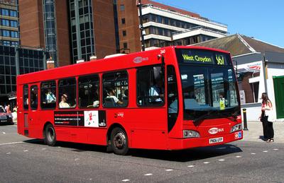 Route 367, Metrobus 260, PN06UYP, Bromley