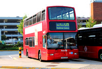 Route U3, First London, TN33334, LK03UFN, Heathrow