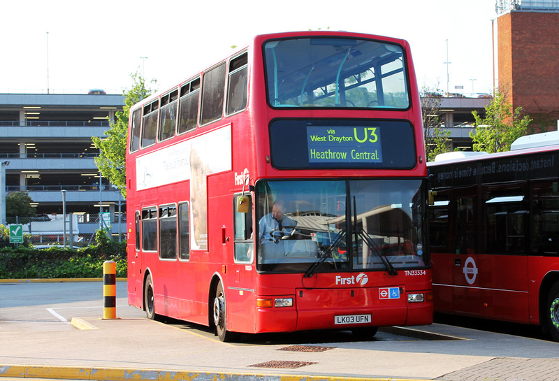 London Bus Routes Route U3 Heathrow Central Uxbridge