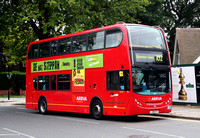 Route 102, Arriva London, T2, LJ08CVT, East Finchley