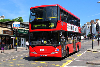 Route 320, Metrobus 975, YR10BCF, Bromley South