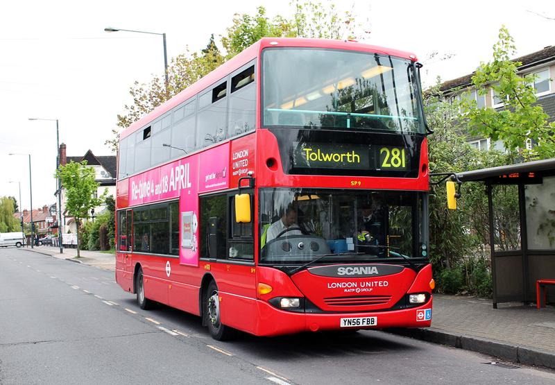 281 bus schedule