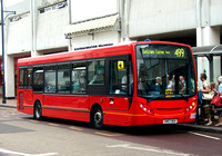 Route 499, Arriva Southend 3998, GN57BOV, Romford