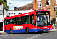 Route 190, Metroline, DM966, LK58CRZ, Richmond